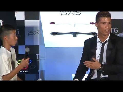 Cristiano Ronaldo Defends Young Japanese Fan