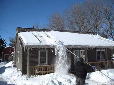 How To Safely Remove Snow And Prevent Ice Dams With Quot Snow