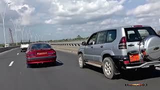 DOUALA, CAMEROUN, AUTOROUTES, AFRICA.