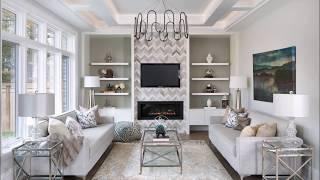 Фото примеры оформления стен в гостиной