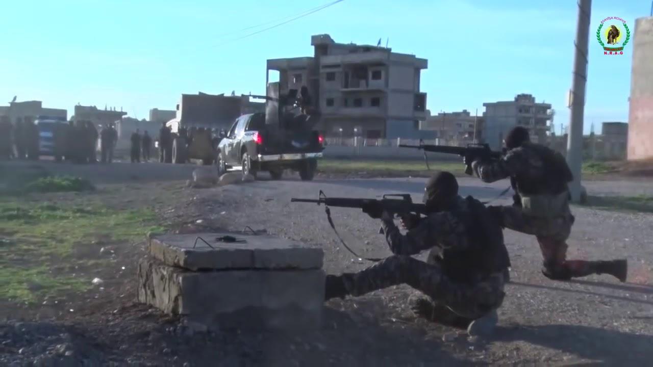 Kamışlı YPG Özel Harekat Şebbihalara Operasyon
