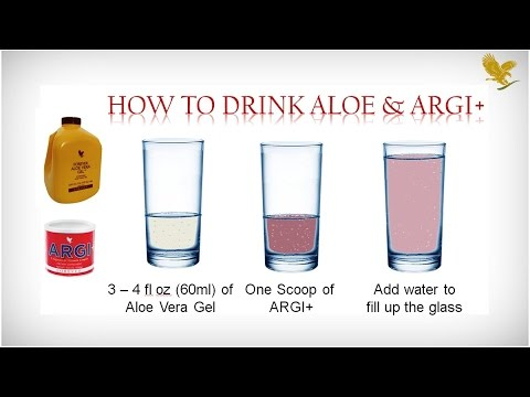 Aloe Vera and ARGI Plus Benefits by Forever Living