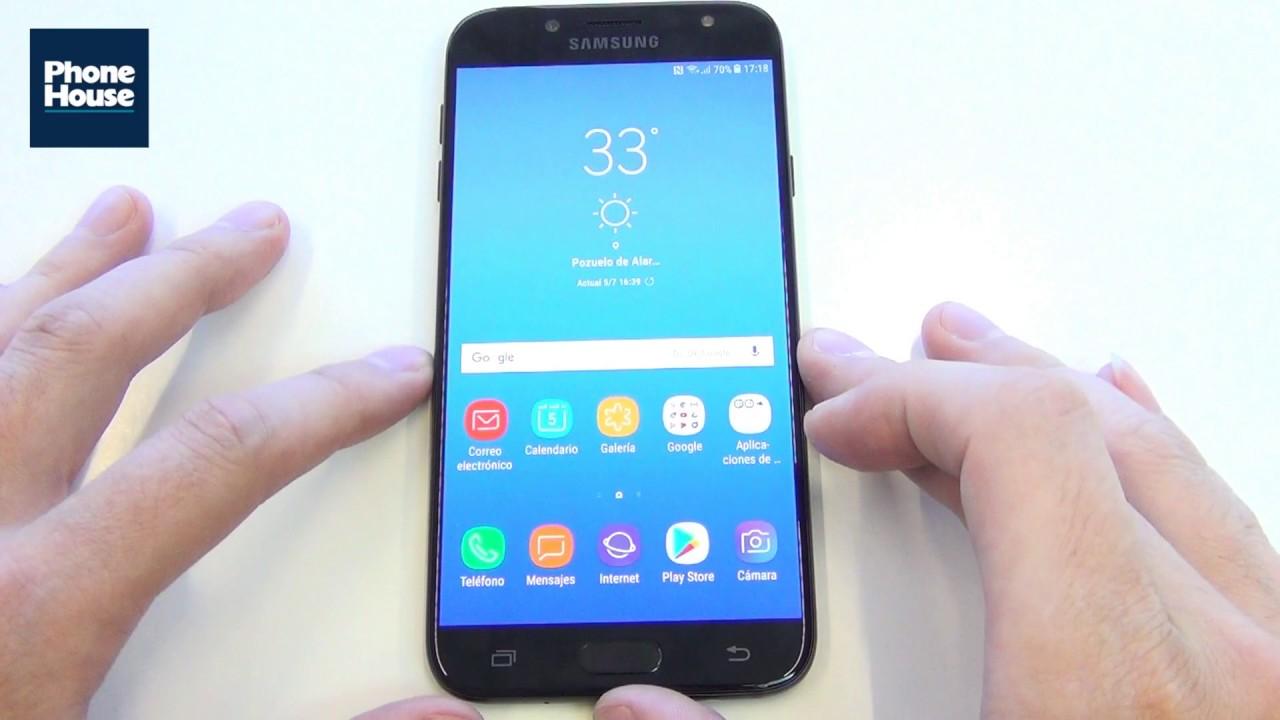 19ffa5ce7 TIP  Activar funcion multiwindow Samsung Galaxy J7 2017 - YouTube