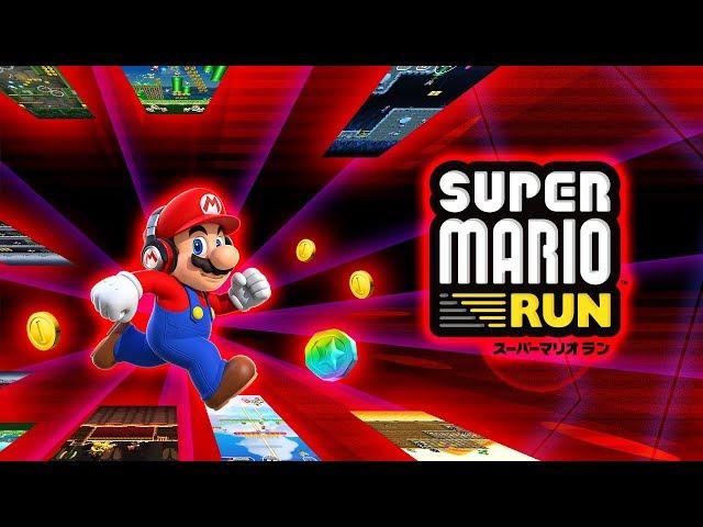Super Mario Run Gameplay