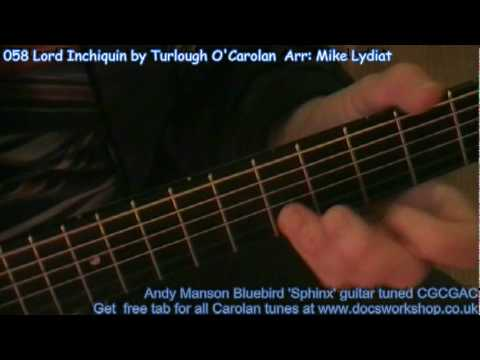 058 Lord Inchiquin by Turlough O'Carolan    Arr: Mike Lydiat