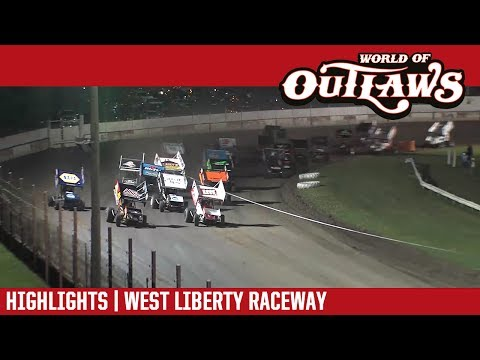World of Outlaws Craftsman Sprint Cars West Liberty Raceway June 23, 2017 | HIGHLIGHTS