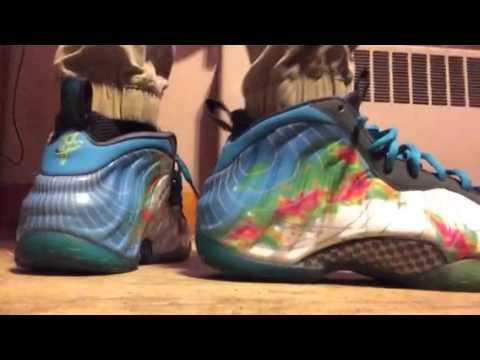 fcbf9afcbf7 On Feet  Nike Foamposite Weatherman - YouTube