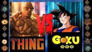 Download Video The Thing (Marvel Comics) vs Goku (Dragonball Z) - Ultimate Mugen Fight 2016 MP3 3GP MP4