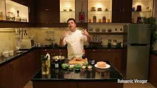 How To Make Chicken Strips, Balsamic Vinegar And Ginger By Chef Vicky Ratnani