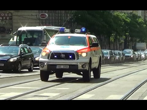 *5 IN 1!!!!!* Prague EMS, medical transports & police responding; 1 after another!! [CZ | 6.2014]