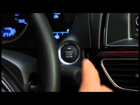 2014 Mazda6 Push To Start And Starting The Engine With A