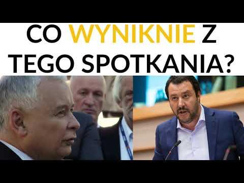 Kowalczuk: Włoski establishment i media boją się spotkania Kaczyński-Salvini. Jest ono groźne