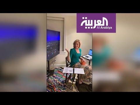 صباح العربية | مذيعة مباشرة على الهواء من غرفة النوم  - نشر قبل 1 ساعة