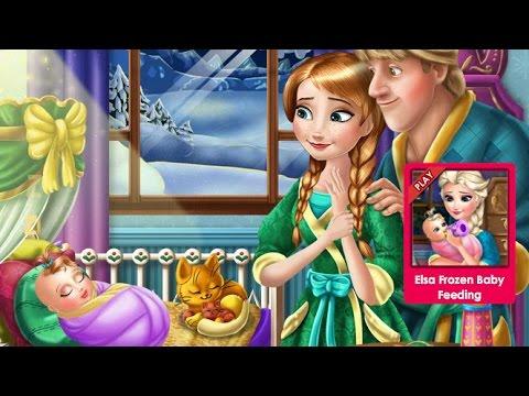 Anna Frozen Игры—Малышка Анны из Холодное сердце—Онлайн Видео Игры Для Детей Мультфильм 2015