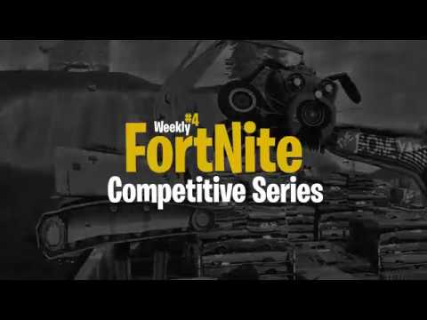 Weekly Fortnite Competitive Series #4 | Hoist The Colors [eSports]