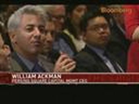 Ackman Says Short Sellers Are Key for Capital Markets: Video