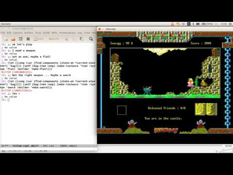 Common Lisp 2D Game - Episode 1