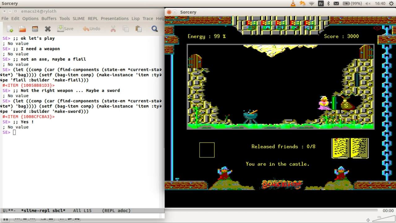 Common Lisp 2D Game
