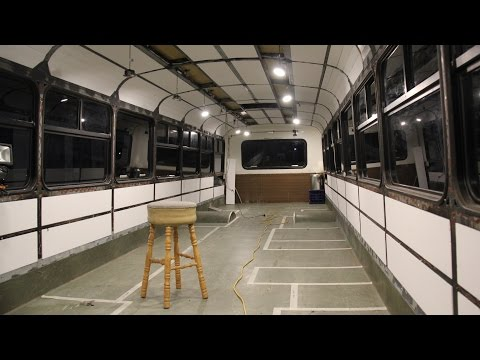 School Bus Conversion - Episode 8 - Internal Lighting & Wiring