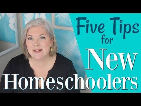 5 Tips for New Homeschoolers