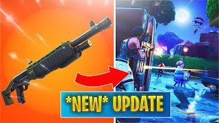 *NEW UPDATE* Heavy Pump Shotty + Team Rumble LTM! (Fortnite v6.31 Patch Notes)