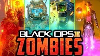 ALL ZOMBIES EASTER EGGS!! // BLACK OPS 3!!