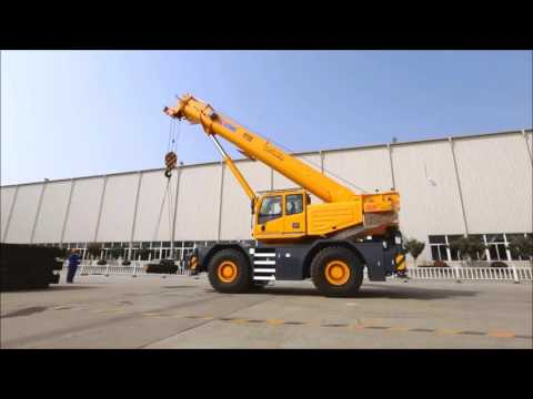 Самоходный кран XCMG RT55E - аренда крана на Unirenter.ru