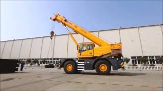 Самоходный кран XCMG RT55E - аренда крана на Unirenter.ru(Самоходный колесный кран XCMG RT55E стал звездой на последней выставке BAUMA 2016. Потребовался мобильный кран на..., 2016-05-30T20:24:10.000Z)