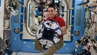 ScienceCasts: The Strange Way Fluids Slosh on the International Space Station