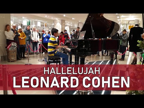 Hallelujah by Leonard Cohen at John Lewis Oxford Street - Cole Lam 11 Years Old