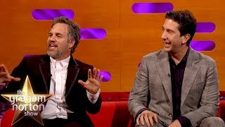 Mark Ruffalo & David Schwimmer's Hilarious First Job | The Graham Norton Show