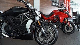 Мото новинки Ducati 2017.Тест-драйв