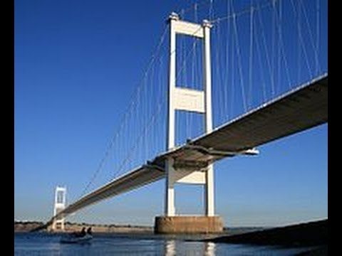 Driving In England and Wales: The Original Severn Bridge