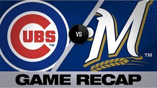 Schwarber's grand slam leads Cubs in 10-5 win | Cubs-Brewers Game Highlights 9/5/19