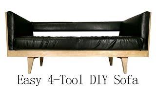Easy DIY Modern Plywood Sofa | 4 Tools