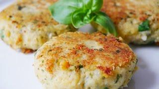 Котлеты из нута и картофеля веган - простой рецепт *Без яиц