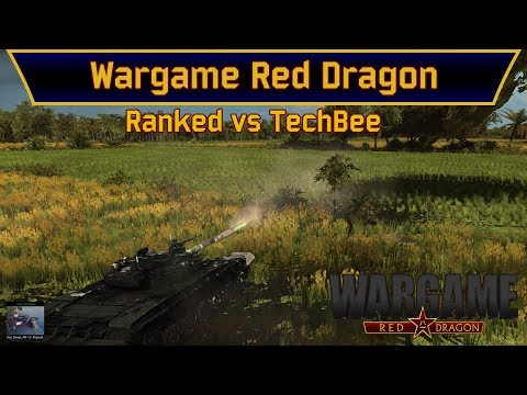 Wargame: Red Dragon - 1vs1 Ranked vs TechBee | Scandinavia | Highway To Seoul