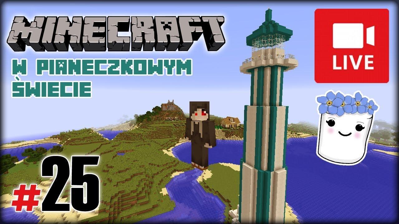 """[Archiwum] Live – Minecraft w Pianeczkowym świecie (14) – [2/2] – """"Wyprawa po kwarc"""""""