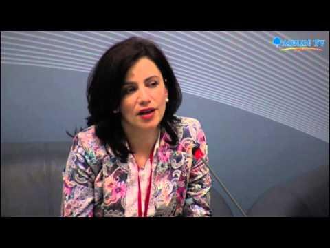 Florina Nedelea at Bucharest Forum Healthcare 2015