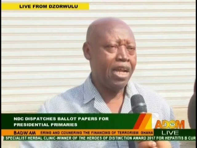 NDC Dispatches Ballot Papers For Presidential Primaries - Badwam on Adom TV (20-2-19)