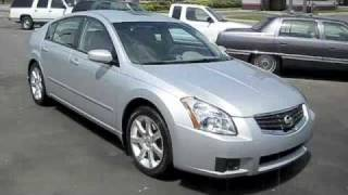 2007 Nissan Maxima 3.5 SE Start Up, Full Tour, and Driving