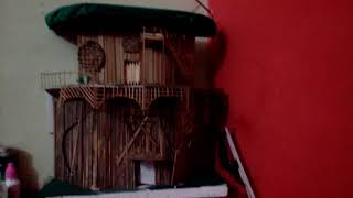 How to make stick house
