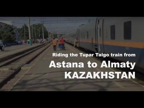 Video Walkthrough: Tupar Talgo train from Astana to Almaty, Kazakhstan (Train #706)