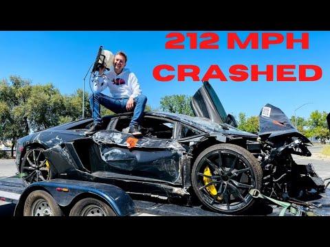 CRASHED Lamborghini at 212 MPH!! – Time to Rebuild It