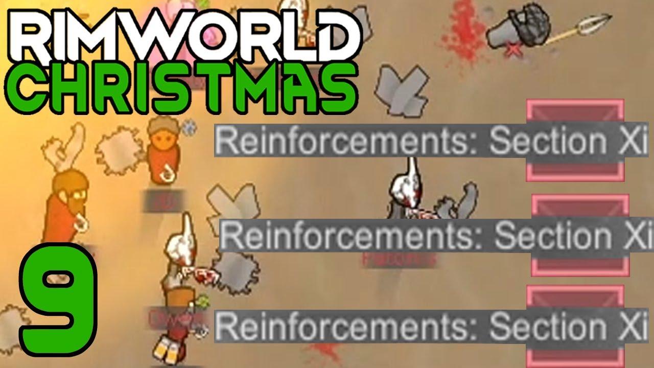 Download Igor Invader Claps Santa's Cheeks | Rimworld: Christmas Storytellers #9
