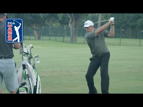 Phil Mickelson's full range session at the Charles Schwab Challenge 2021