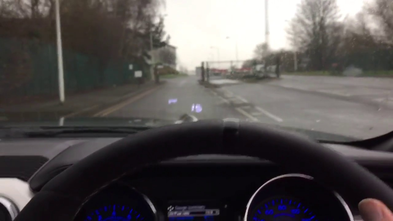 X5 Hud No Film And Pad Cut To Size Heads Up Display For Mustang Youtube