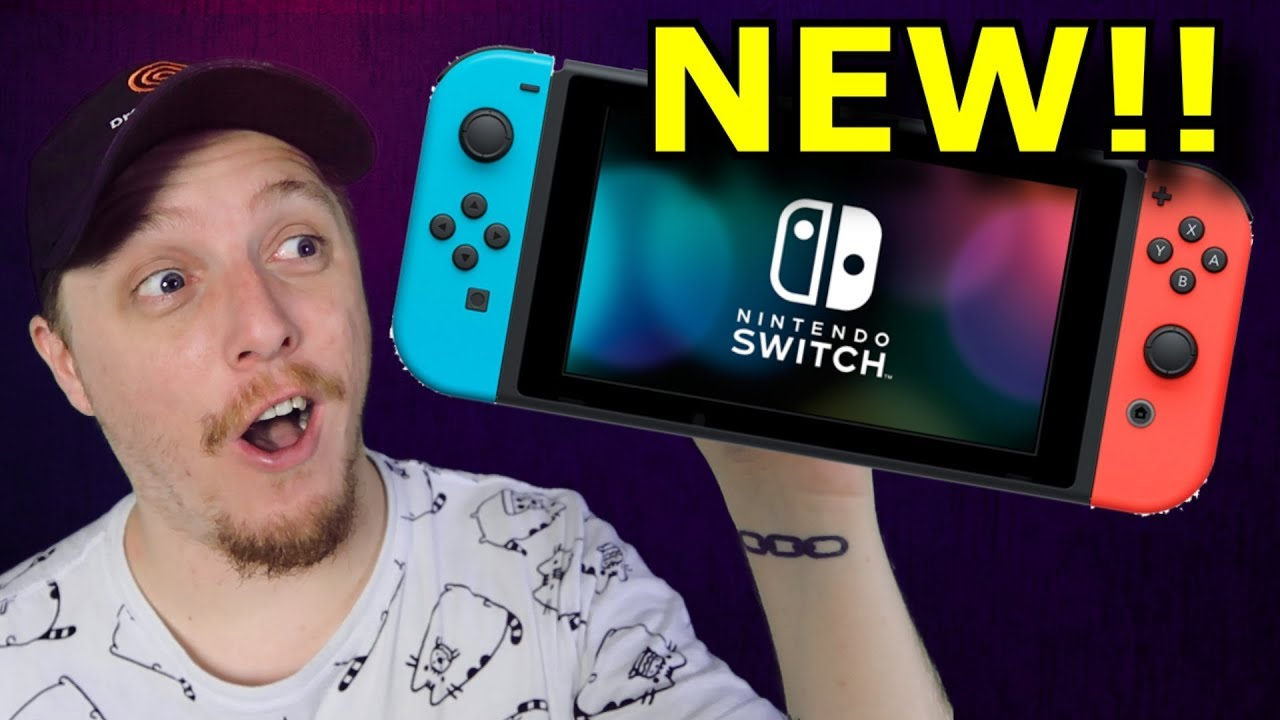 New Nintendo Switch is Out!!