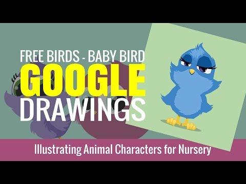 Free Birds - Nursery Animal Character Design