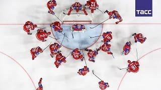 Российские хоккеисты обыграли сборную Латвии со счетом 5 0 на ЧМ